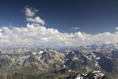 View of pyrenees from pic du midi — Stock Photo