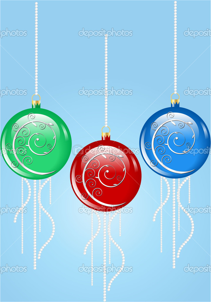 Baubles — Stock Vector #15412473