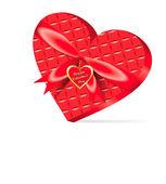 Heart shaped box — Stock Vector