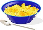 Cornflakes — Stock Vector