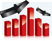 Markets SALES — Stock Vector
