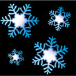 Stock Vector: Snowflakes 12