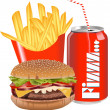 Stock Vector: Fast food 2