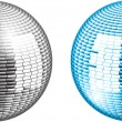 Stock Vector: Glitter ball