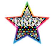 Disco star — Stock Vector