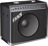 Amplifikatör — Stok Vektör