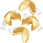 FORTUNE COOKIES — Vector de stock