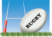RUGBY FOOTBALL — Stockvector
