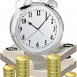 Stockvektor : TIME IS MONEY
