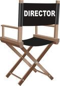 Sedia direttori — Vettoriale Stock