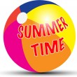 Summer time — Vector de stock #23714261