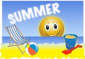 Summer holiday — Stock Vector