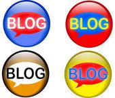 Bloging — Stockvektor