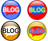 Bloging — Vetorial Stock