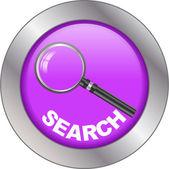 Search button — Stock Vector