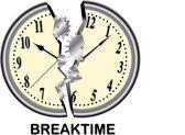 Break time — Stock Vector