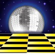 DISCO CLUB — Stock Vector