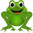 Stock Vector: FUNNY FROG