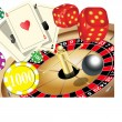 Stock Vector: GAMBLING