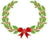 Christmas decorative design — Stock Vector