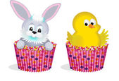 Easter designs — Stock Vector
