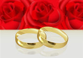 WEDDING RINGS — Vector de stock