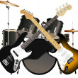 Stock Vector: ROCK MUSIC