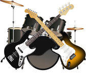 ROCK MUSIC — Stock Vector