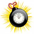 TIME BOMB — Stock Vector