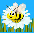 Honey bee — Stock Vector #29820655