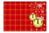 圣诞黄金球 — 图库矢量图片