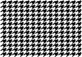 Dog tooth PATTERN — Stock Vector