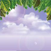 SKY VIEW — Stock Vector