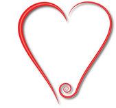 Swirl hearts and beat — Stock Vector