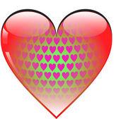 HEART SYMBOL — Stock Photo