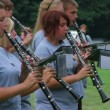 Band Playing Clarinets — Stock Video