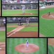 Baseball Game Composite — Stock Video #14453413