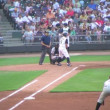 Baseball Out At First Base — Stock Video #14458039