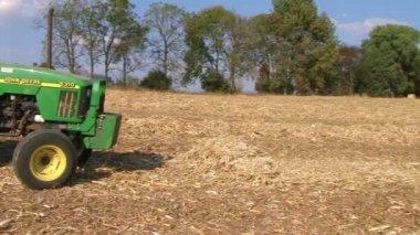 Farmer Starting Work Day — Stock Video