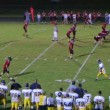 Football Interception For Touchdown — Stock Video