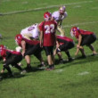 Defense Sacks Quarterback — Stock Video