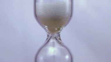 Hourglass Time Lapse — Stock Video