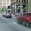Downtown Traffic Time Lapse — Stock Video