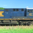 Stock Video: Freight Train in the Country