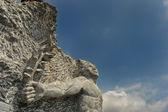 Stone sculpture — Stock Photo