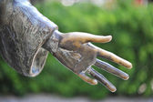Hand of a statue — Stock Photo