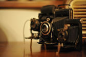 Vintage Camera Collection — Stock Photo