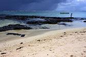 Flicka i mauritius — Stockfoto