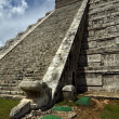 Chichen itza the castle — Stock Photo