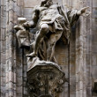 Statue in front of duomo — Stock Photo #12871938